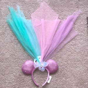 Minnie Mouse fairy headband